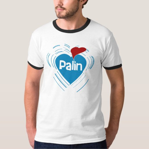 Amo la camiseta del campanero de Sarah Palin Playera