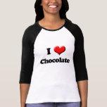 Amo la camiseta del chocolate, el día de San Polera