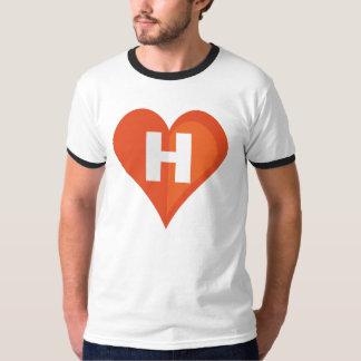 Amo la camiseta del código playeras