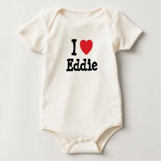 Amo la camiseta del corazón de Eddie Mamelucos