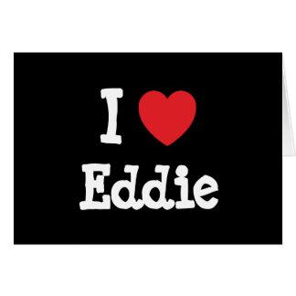 Amo la camiseta del corazón de Eddie Tarjeton