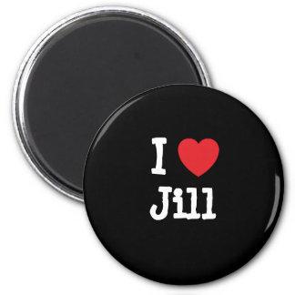 Amo la camiseta del corazón de Jill Iman