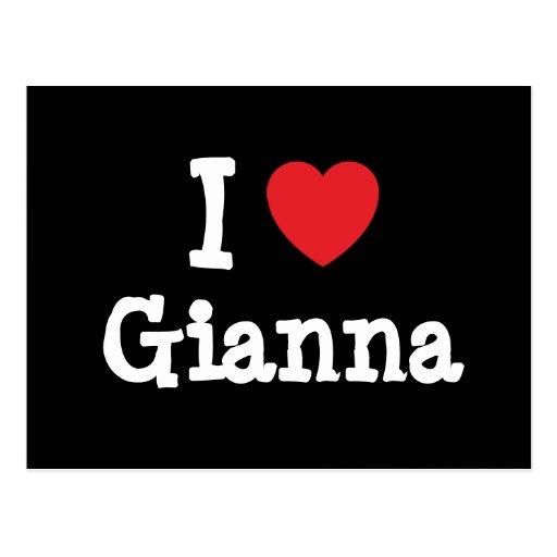 Amo la camiseta del corazón de Juana Postales