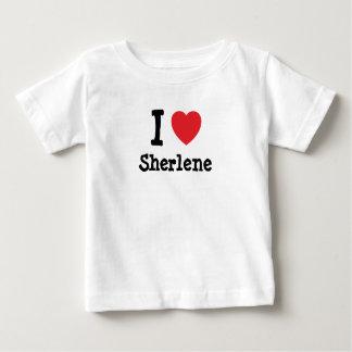 Amo la camiseta del corazón de Sherlene