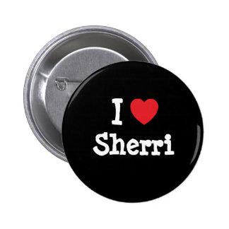 Amo la camiseta del corazón de Sherri Pins