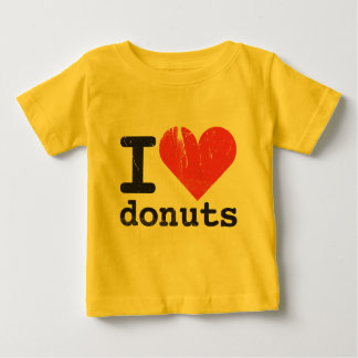 Amo la camiseta del niño de los anillos de espuma