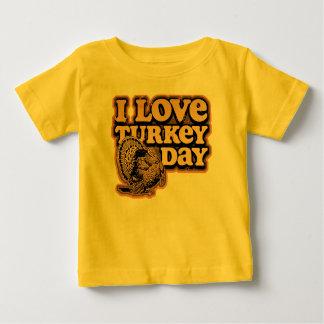 Amo la camiseta del niño del día de Turquía
