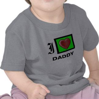 """""""Amo la camiseta del niño y del niño del papá """""""