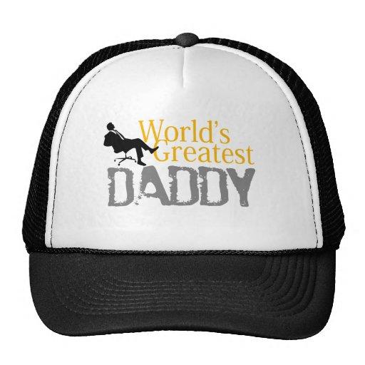 Amo la camiseta del papá gorra