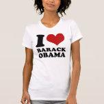 Amo la camiseta del vintage de Barack Obama