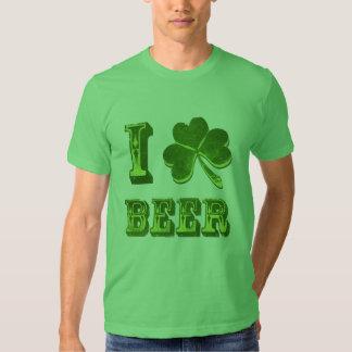 Amo la camiseta divertida del día de St Patrick Playera