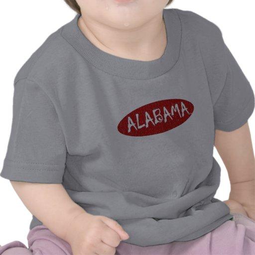 Amo la camiseta infantil de Alabama cerca: da'vy