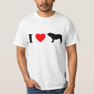 Amo la camiseta inglesa de los dogos