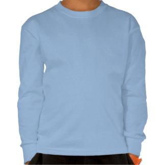 Amo la camiseta larga de la manga de Marte para lo