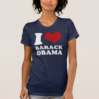 Amo la camiseta (limpia) de Barack Obama Remera