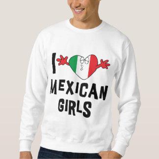 Amo la camiseta mexicana de los chicas