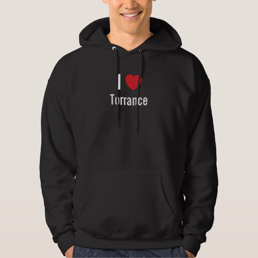 Amo la camiseta negra de Torrance Sudadera