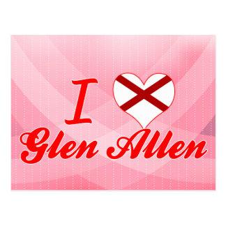 Amo la cañada Allen, Alabama Postal