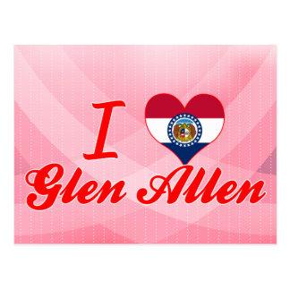 Amo la cañada Allen, Missouri Postal