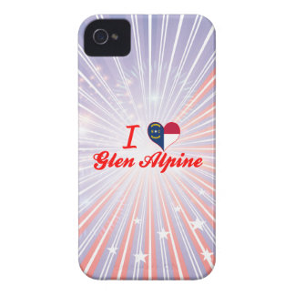 Amo la cañada alpina, Carolina del Norte iPhone 4 Protector
