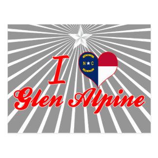 Amo la cañada alpina, Carolina del Norte Postal