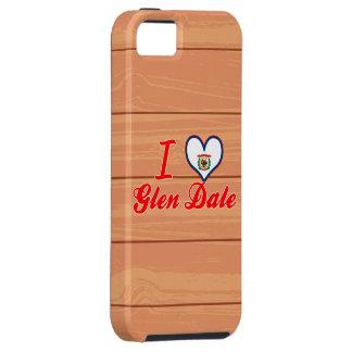 Amo la cañada Dale, Virginia Occidental iPhone 5 Case-Mate Funda