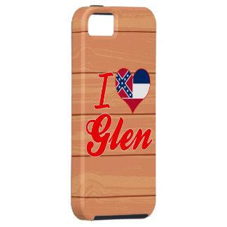 Amo la cañada, Mississippi iPhone 5 Case-Mate Cárcasa