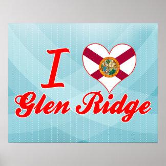 Amo la cañada Ridge, la Florida Impresiones