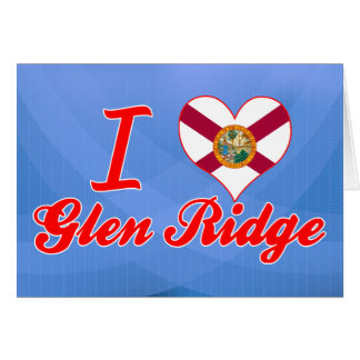Amo la cañada Ridge, la Florida Tarjeta De Felicitación