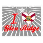 Amo la cañada Ridge, la Florida Tarjetas Postales