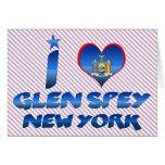 Amo la cañada Spey, Nueva York Tarjetas