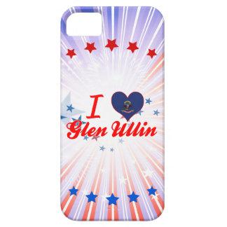 Amo la cañada Ullin, Dakota del Norte iPhone 5 Case-Mate Protector