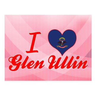 Amo la cañada Ullin, Dakota del Norte Postal