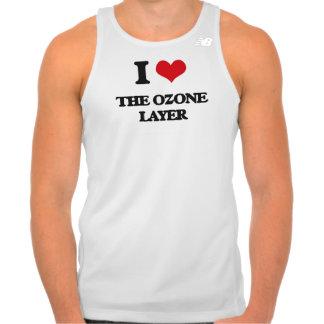 Amo la capa de ozono camisetas