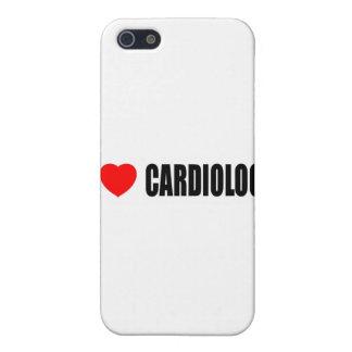 Amo la cardiología iPhone 5 fundas