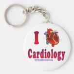 Amo la cardiología llavero personalizado