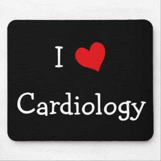 Amo la cardiología tapete de ratón