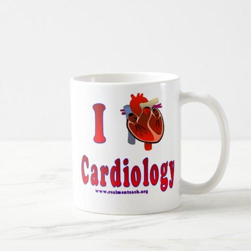 Amo la cardiología tazas