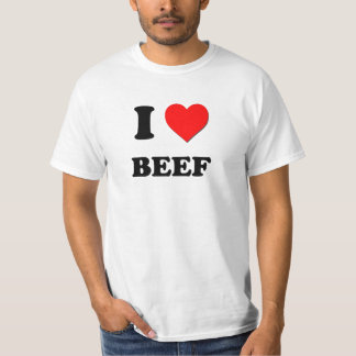 Amo la carne de vaca playera