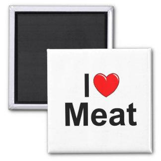 Amo la carne (del corazón) imanes