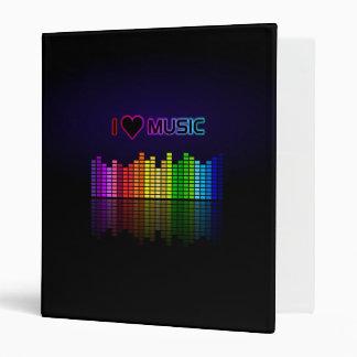 Amo la carpeta de la música