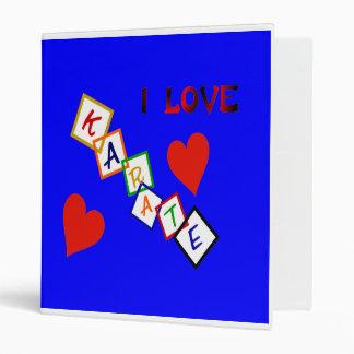 Amo la carpeta del karate