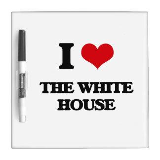Amo la Casa Blanca Pizarra