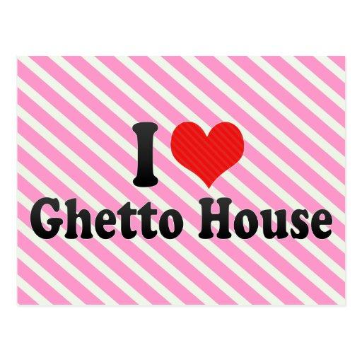 Amo la casa del ghetto postal