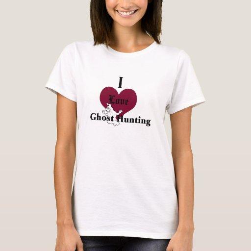 Amo la caza del fantasma playera
