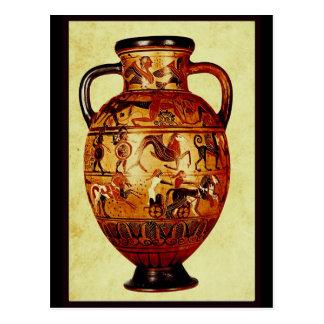 Amo la cerámica antigua tarjetas postales