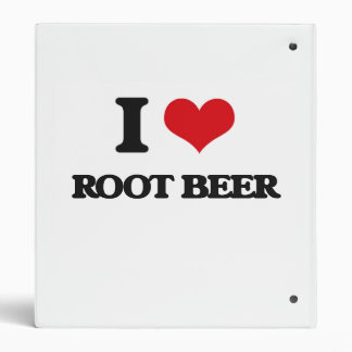 Amo la cerveza de raíz