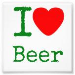 Amo la cerveza fotografia