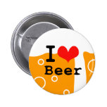 Amo la cerveza pin