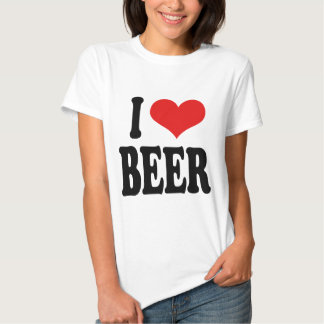 Amo la cerveza playeras